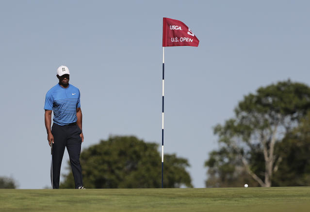 Tiger Woods is at the U.S. Open, but how much more does he have in the tank? (AP)