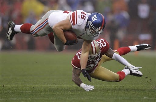 Giants top 49ers 20-17 in OT to reach Super Bowl