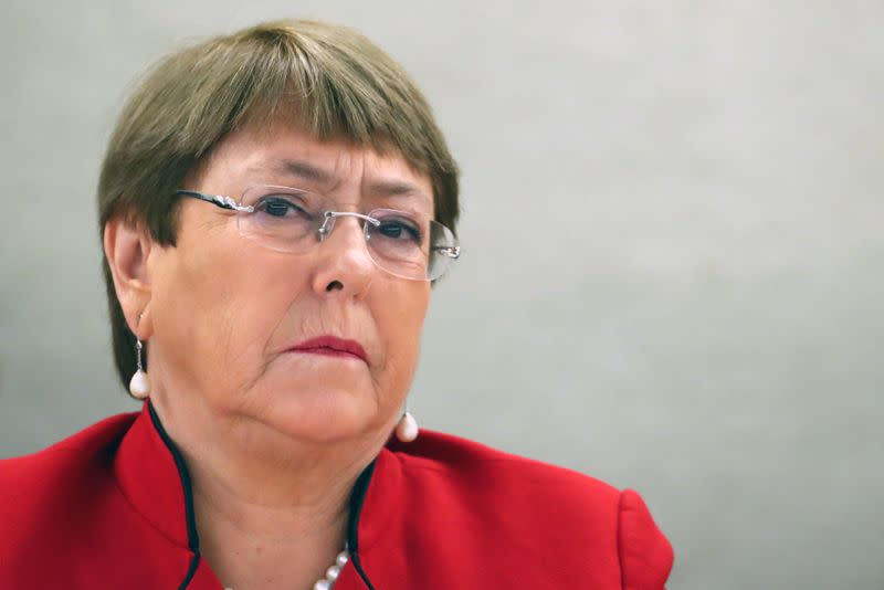 U.N.'s Bachelet urges Saudi to release women activists, uphold rights