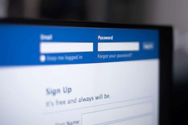 PHOTO: Log in screen for Facebook. (STOCK PHOTO/Getty Images)