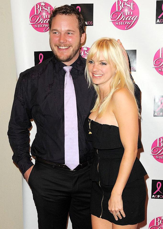 """""""House Bunny"""" star Anna Faris and Chris Pratt of """"Parks and Recreation"""" fame quietly exchanged vows in July 2009 without anyone knowing while vacationing in Bali. Jordan Strauss/<a href=""""http://www.wireimage.com"""" target=""""new"""">WireImage.com</a> - October 18, 2008"""