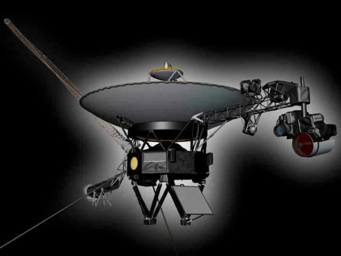 FILE PHOTO: Undated artist's concept depicting NASA's Voyager 1 spacecraft