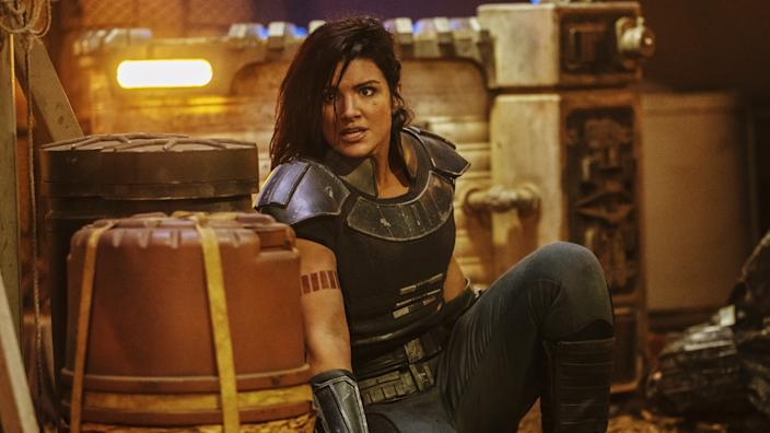 Gina Carano appears in