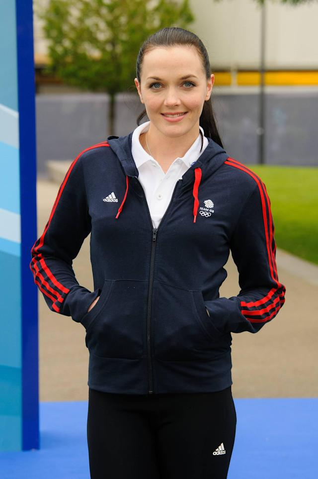 Victoria Pendleton The Samsung Hope Relay Launch at Potter's Field London, England - 14.05.12 Mandatory Credit: WENN.com