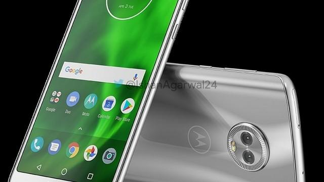 Moto G6 Silver. Image credit: Mobilescout