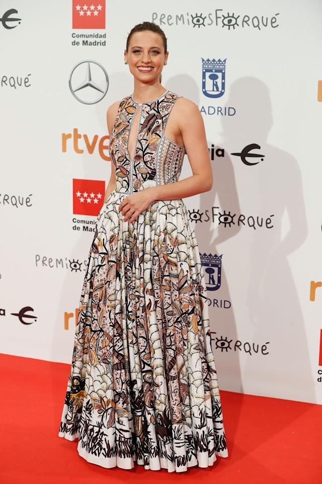 <p><strong>Michelle Jenner,</strong> de Dior.</p>