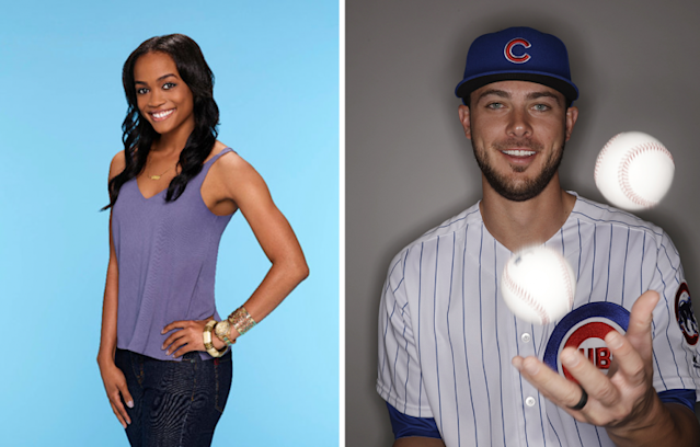 "Having to choose between Rachel Lindsay and ""The Bachelorette"" and Kris Bryant and the Cubs, these ladies pick romance. (AP)"