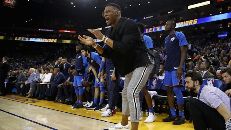 Thunder's Russell Westbrook making season debut vs. Kings