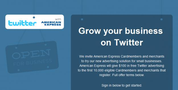 Twitter partners with Amex to launch self-serve ad platform