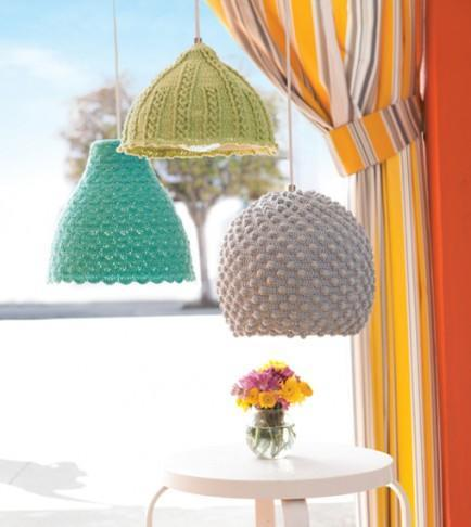 """<div class=""""caption-credit""""> Photo by: Crochet Today</div><b>Crochet lamps</b> <br> Have you ever seen lights so cute and cozy? We doubt it. Warm up your lights with these absolutely precious seashell lamp crochet patterns! <br> <i>Get the full tutorial at <a href=""""http://www.crochettoday.com/crochet-patterns/seashell-lamps"""" rel=""""nofollow noopener"""" target=""""_blank"""" data-ylk=""""slk:Crochet Today"""" class=""""link rapid-noclick-resp"""">Crochet Today</a></i>"""