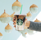 <p>The coconut milk adds that subtle sweet flavor and the mocha gives it a more classic taste. </p>