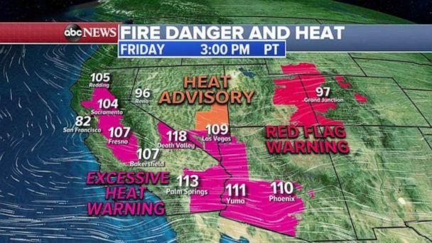 PHOTO: Conditions in the Southwest could lead to more wildfires. (ABC News)