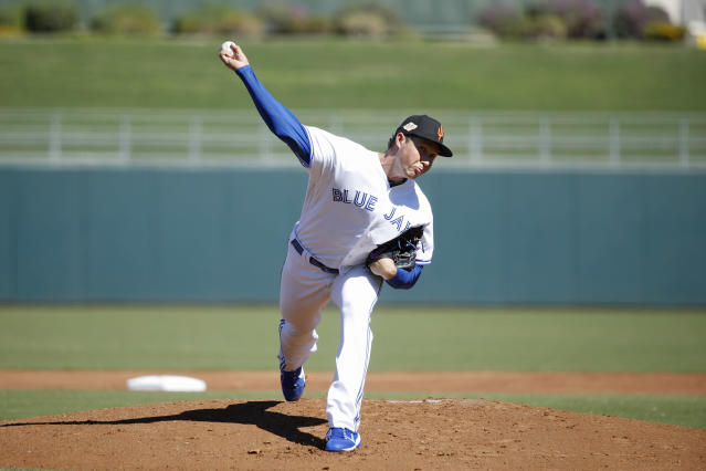 Nate Pearson is quickly climbing the Blue Jays system. (Joe Robbins/Getty Images)