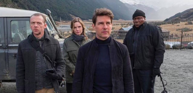 Tom Cruise and Co. in 'Mission: Impossible 6' (Photo: Christopher McQuarrie/Instagram)