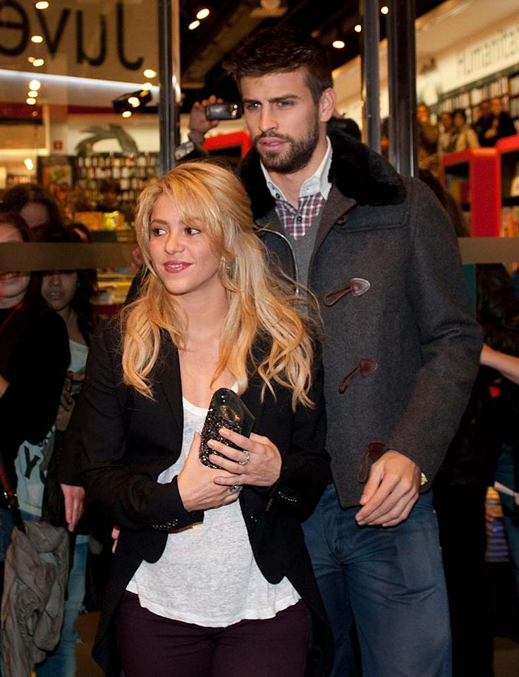 """Songstress Shakira, 34, and Spanish soccer star Gerard Pique, 24, called it quits in October after dating just six months amid rumors of Pique's infidelities. Not everyone was upset over the breakup. Thanks to their constant PDA, some Spanish celeb gossip sites had dubbed them, """"the most obnoxious couple in football."""""""