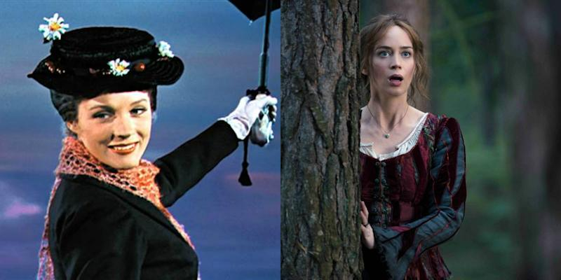 Emily Blunt Teases Her MARY POPPINS May Be 'A Little Meaner'