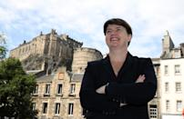 Former Scottish Conservative leader Ruth Davidson MSP in Edinburgh, after it was confirmed Scottish Conservative MP Douglas Ross will stand for leadership of the Scottish Conservatives following the sudden resignation of Jackson Carlaw after less than six months in the post.