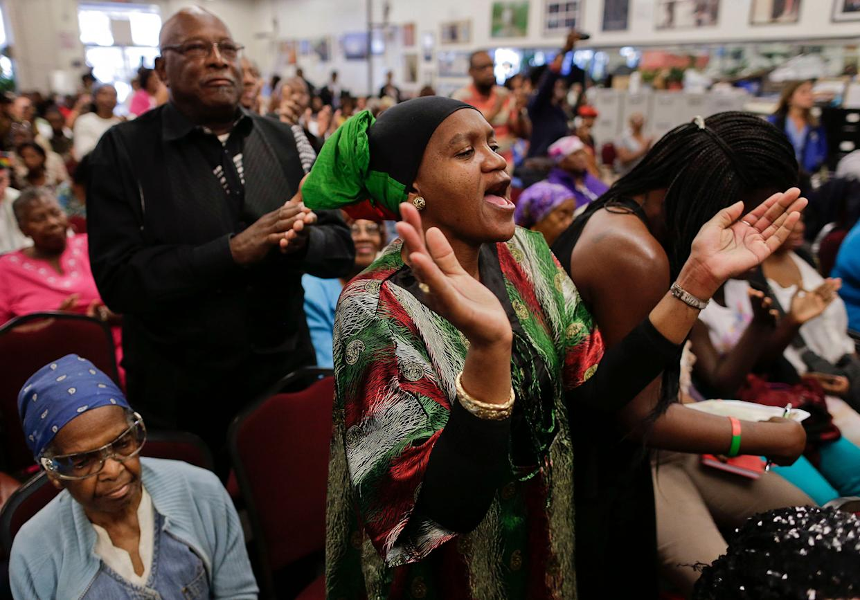 Black Mothers Get A Standing Ovation At The DNC