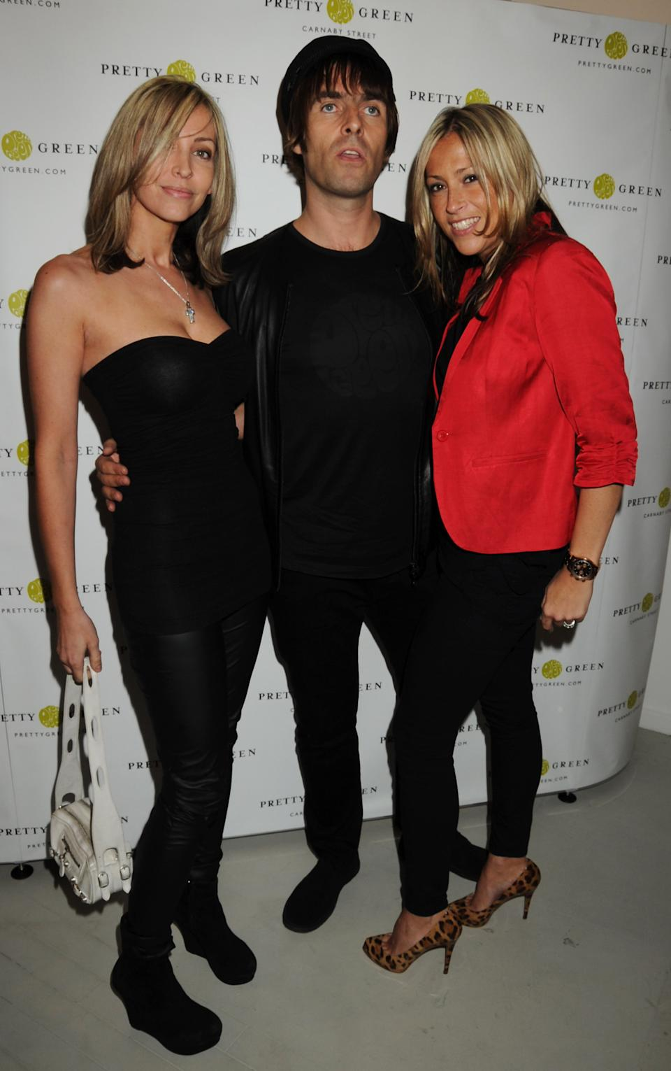 LONDON, ENGLAND - JULY 29:  (EMBARGOED FOR PUBLICATION IN UK TABLOID NEWSPAPERS UNTIL 48 HOURS AFTER CREATE DATE AND TIME. MANDATORY CREDIT PHOTO BY DAVE M. BENETT/GETTY IMAGES REQUIRED)  Natalie Appleton, Liam Gallagher and Nicole Appleton attend the launch party of Liam Gallagher's new store Pretty Green on July 29, 2010 in London, England.  (Photo by Dave M. Benett/Getty Images)