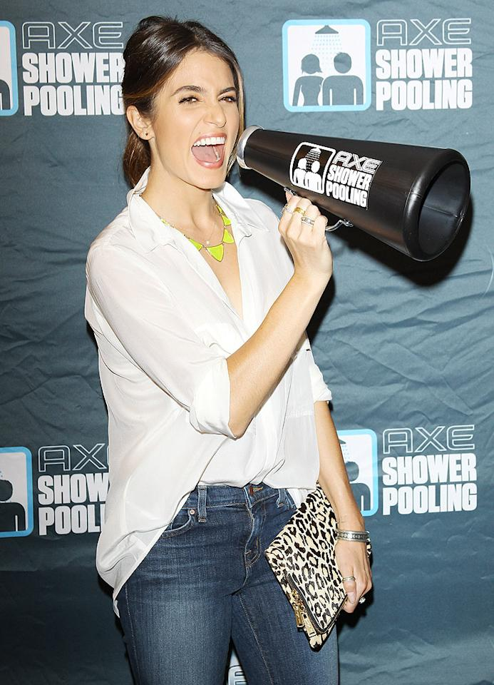 LOS ANGELES, CA - OCTOBER 02:  Nikki Reed attends the AXE showerpooling event held at USC on October 2, 2012 in Los Angeles, California.  (Photo by Michael Tran/FilmMagic)