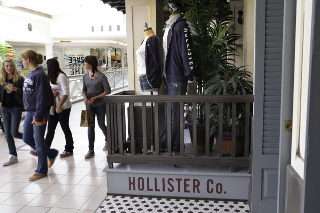 <p><strong>Top clothing brands</strong><br>No. 5: Hollister<br>4 per cent of teens<br>(Canadian Press) </p>