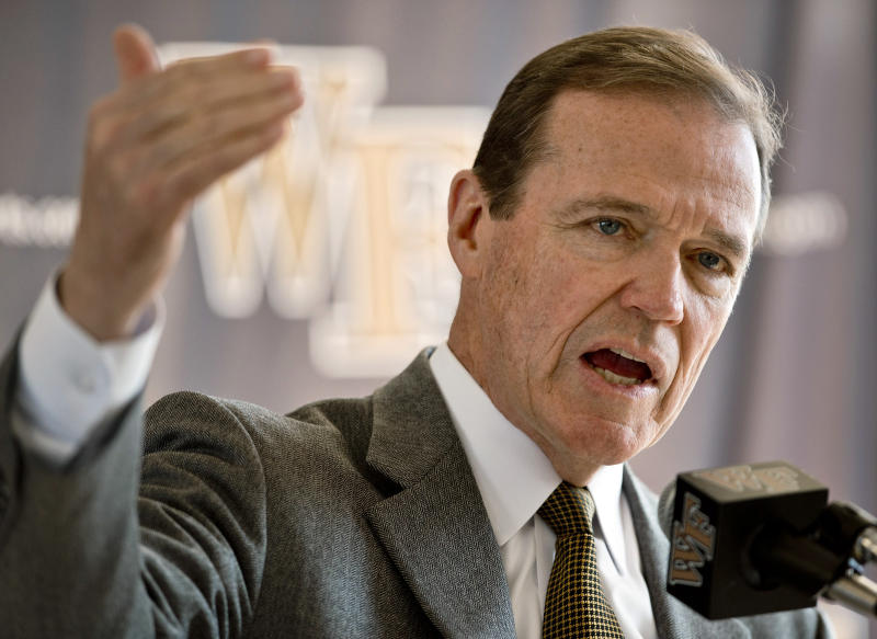 Bzdelik resigns after 4 years at Wake Forest