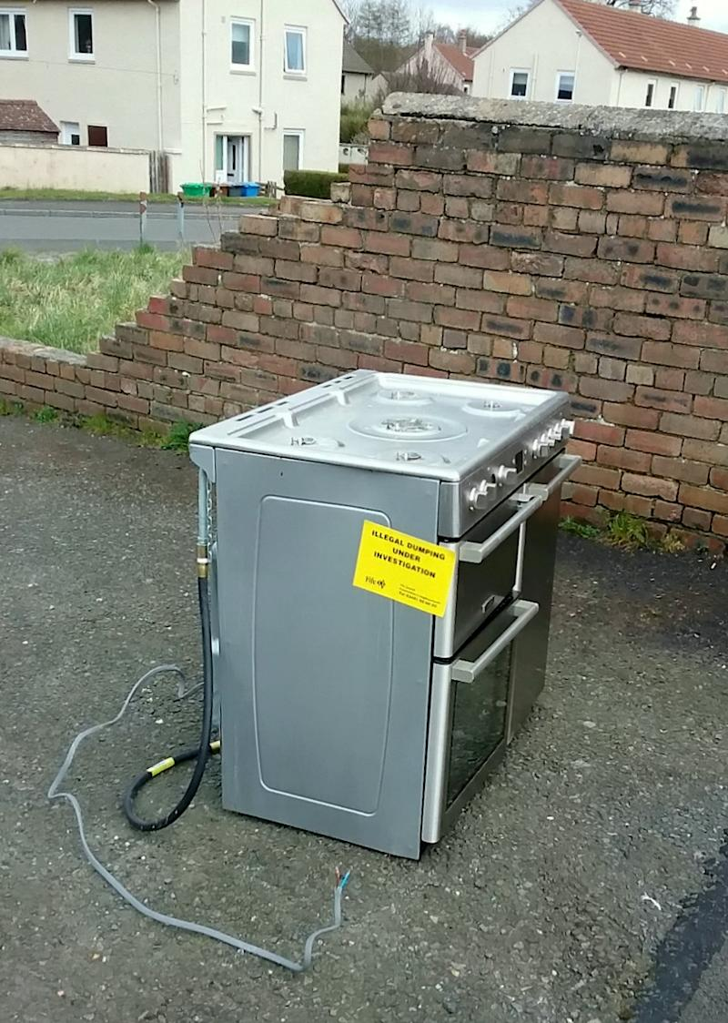 The problem has been spotted by councils across the country. (Picture: SWNS)