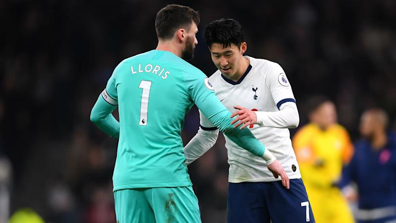 Lloris-Son bust-up shows desire at Spurs to do better, says Lucas Moura
