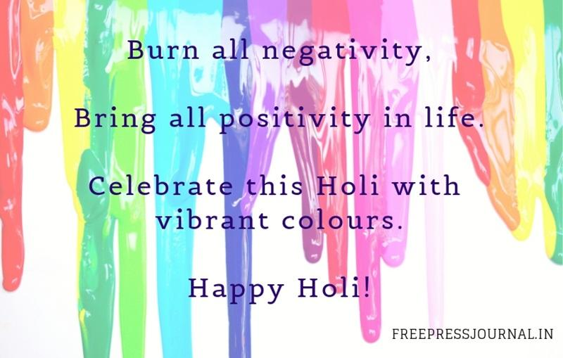 Holi 2019 Wishes, messages, images to share on WhatsApp, Facebook, Instagram and SMS