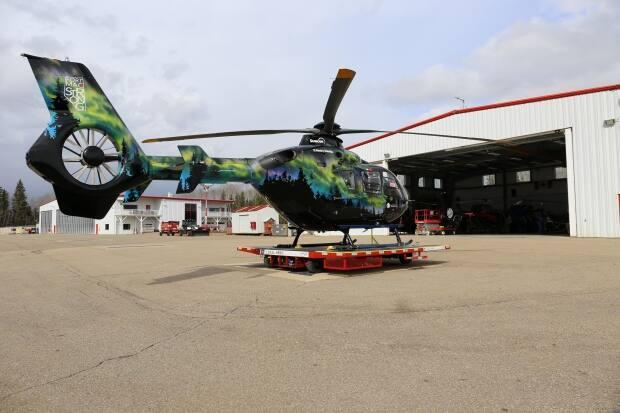 Local HERO operates a helicopter ambulance service in most of Northern Alberta and in Wood Buffalo, one of Canada's largest municipalities.  (David Thurton/ CBC - image credit)