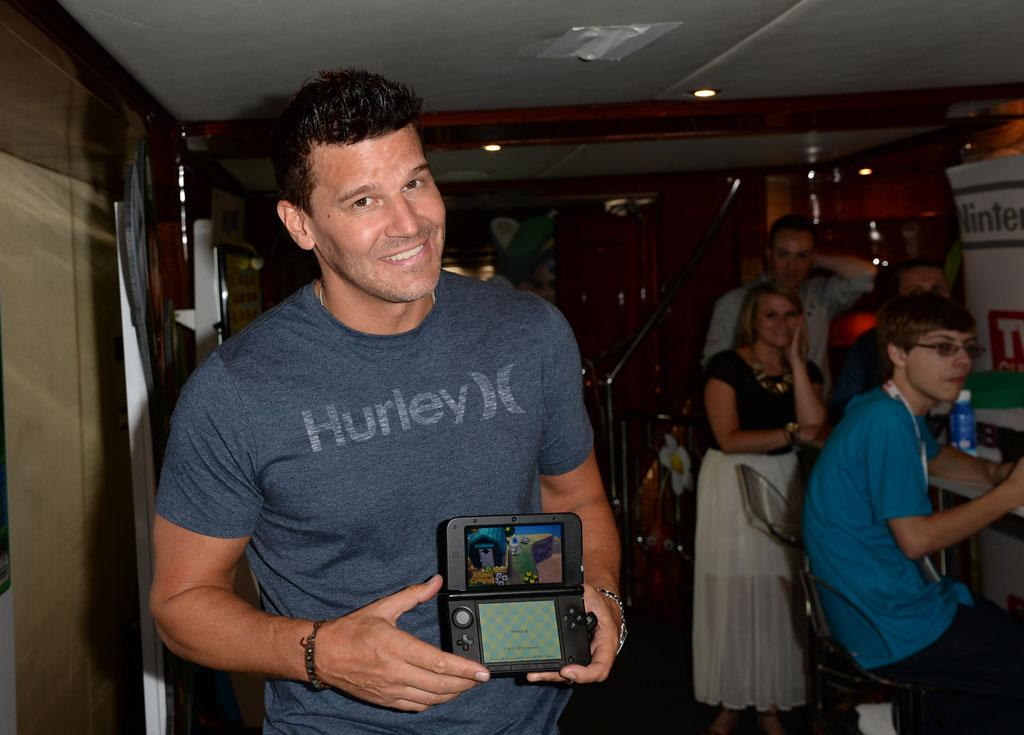David Boreanaz attends the Nintendo Oasis on the TV Guide Magazine Yacht at Comic-Con day 2 on July 19, 2013 in San Diego, California.