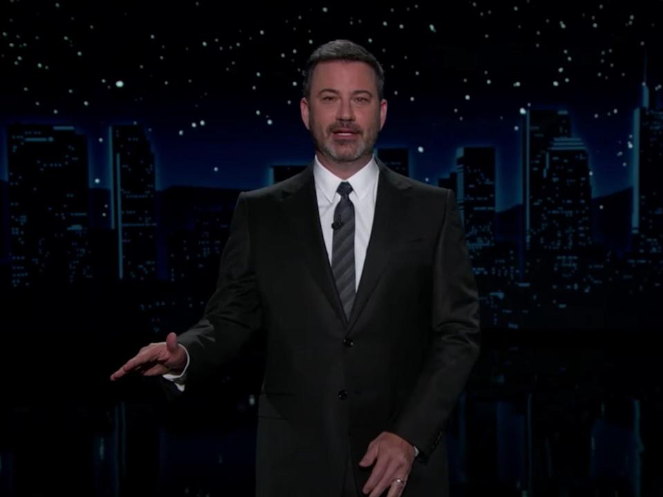 'Would a mute button even work for Donald Trump?' (Jimmy Kimmel Live)