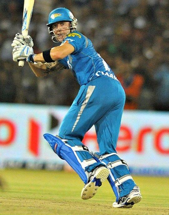 Michael Clarke played his last IPL match in the year 2012.