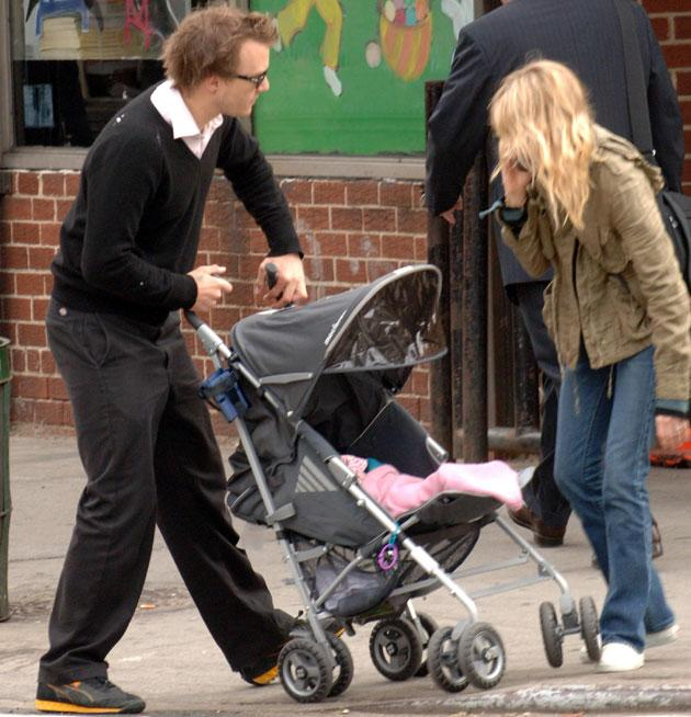 Retro baby names: Heath Ledger called his little princess Matilda