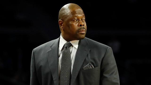 Patrick Ewing's son won't be allowed to stay on staff.