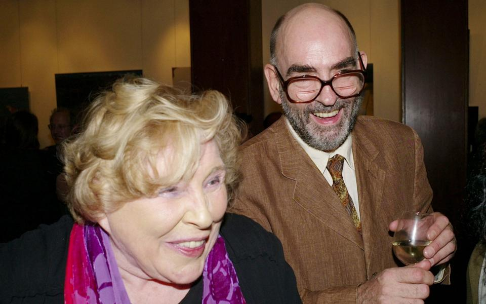 Fay Weldon and Nick Fox at the launch of her book Chalcot Crescent in 2009 - Alan Davidson/Shutterstock