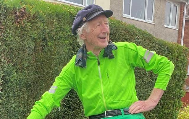 Laurence Brophy, 88, completed the route last year. (GoFundMe)