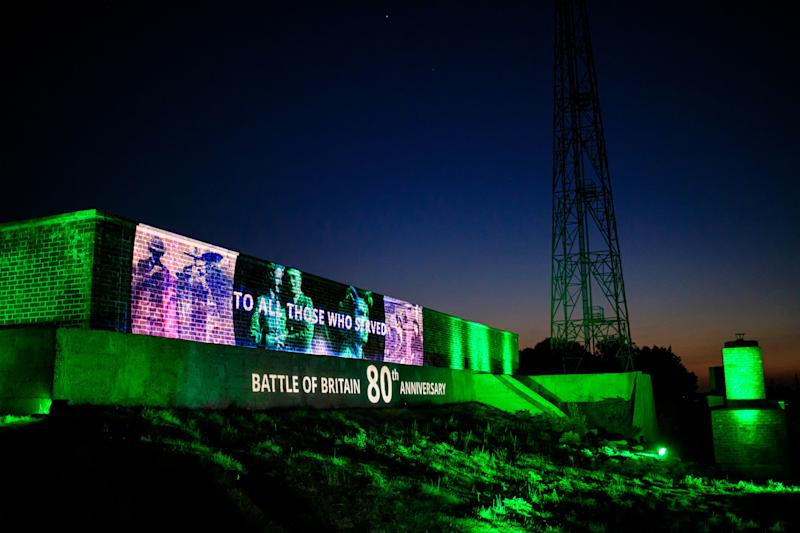 "RAF Bawdsey, a former radar station in Suffolk, is one of two sites where an ""emotive"" lightshow tribute will take place to highlight the achievements of women and other ""unsung heroes"" during the Battle of Britain. (PA)"