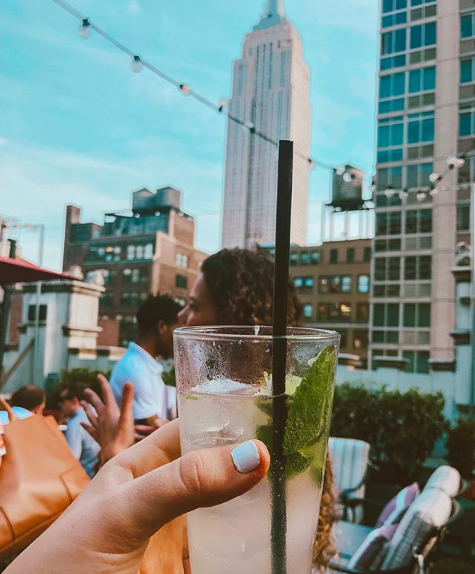 <p>Good food, smooth music and the most specular view of the Empire State Building, The Refinery Rooftop is the perfect place to relax after a busy day of sightseeing. The spicy margarita goes down a treat. </p>