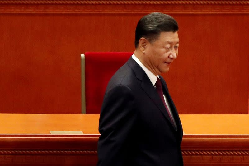 China's Xi says 'happiness' in Xinjiang on the rise, will keep teaching 'correct' outlook