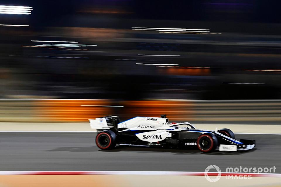 """George Russell, Williams FW43<span class=""""copyright"""">Mark Sutton / Motorsport Images</span>"""