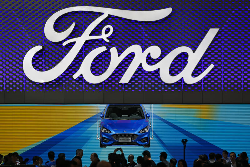 Fords Q Net Profit Falls Percent On Slowing Sales - Car show display stand for sale
