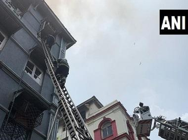 Level 2 fire breaks out in Mumbai's Churchill Chamber building near Taj Mahal hotel; several feared trapped, rescue ops underway