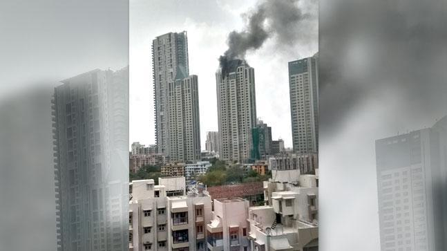 Around 90 to 95 people were rescued by the fire brigade officials from the building. It took about four hours for the fire brigade team to contain the fire after which the cooling process was initiated.