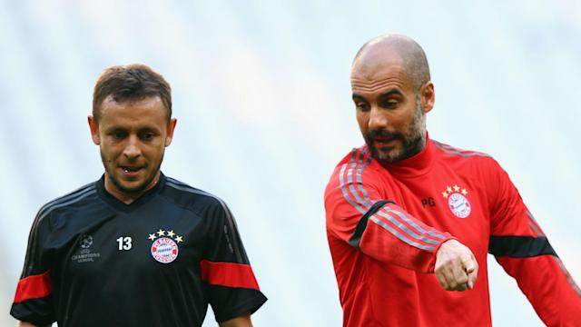 There is no plague of injuries as Bayern Munich reach the business end of the season this term, with Rafinha eyeing glory on three fronts.