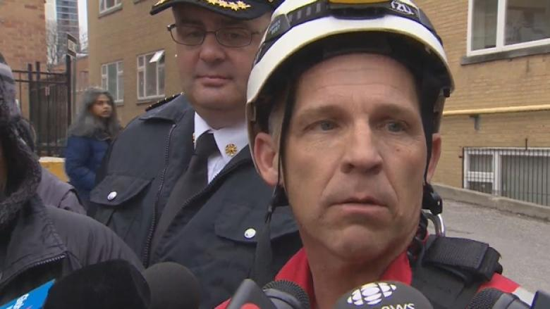 Woman rescued from crane by Toronto firefighter faces 6 mischief charges