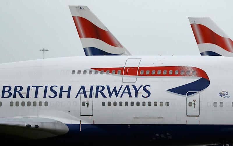 British Airways said the strikes will affect 'tens of thousands' - AP