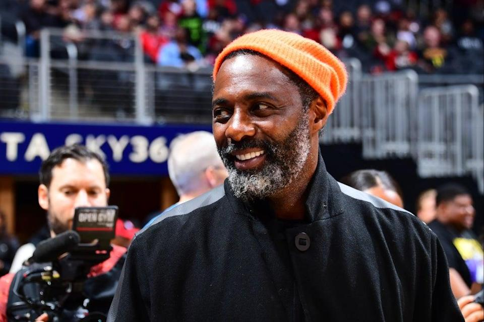 New ventures: Idris Elba is set to open by the banks of Regent's Canal  (NBAE via Getty Images)