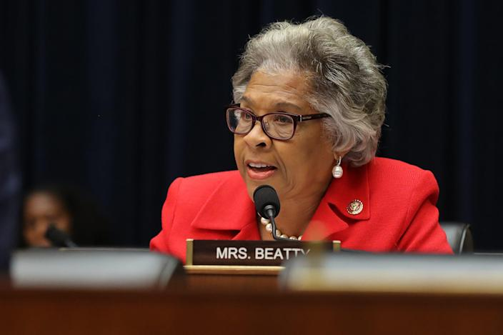 "Rep. Joyce Beatty, D-Ohio, promises to work with the Biden administration and her congressional colleagues ""to defeat the pandemic and ensure better days lie ahead for all of us."""