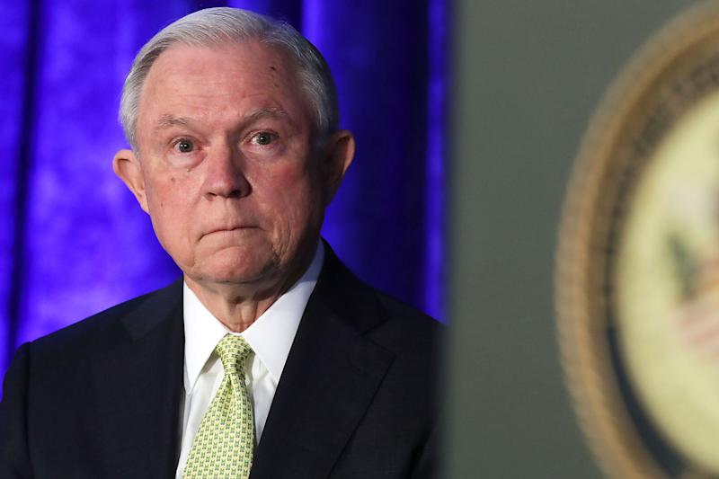 WashPost: Jeff Sessions Says He Will Quit If Trump Fires Rosenstein